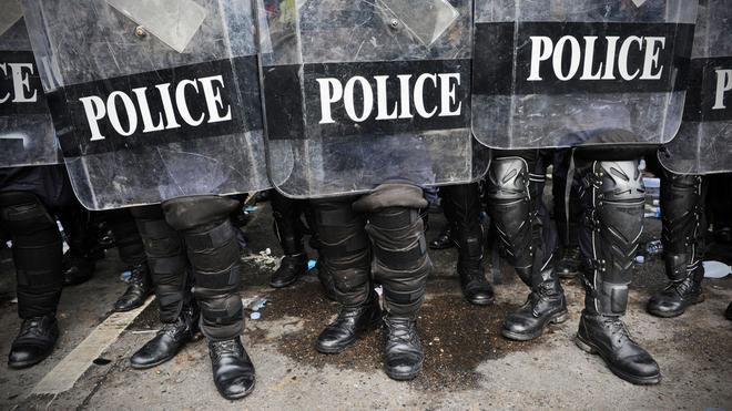 Generalprobe für den Polizeistaat